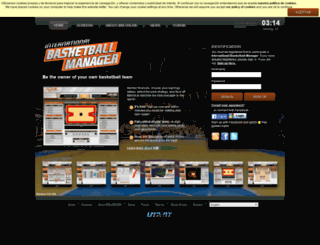 en.ibasketmanager.com screenshot