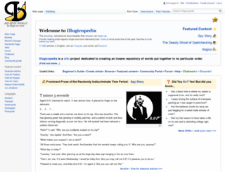 en.illogicopedia.org screenshot