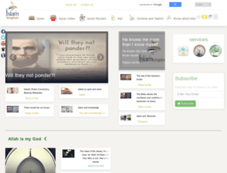 en.islamkingdom.com screenshot