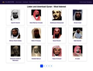 en.islamzoom.com screenshot