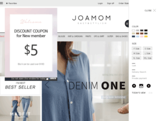 en.joamom.co.kr screenshot