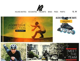 en.k2skates.com screenshot