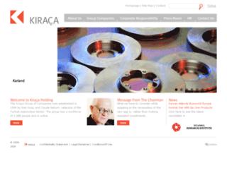 en.kiraca.com.tr screenshot