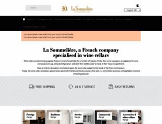 en.lasommeliere.com screenshot