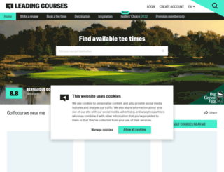 en.leadingcourses.com screenshot