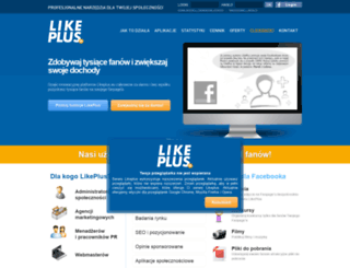 en.likeplus.eu screenshot