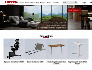 en.loctek.com screenshot