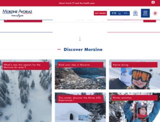 en.morzine-avoriaz.com screenshot