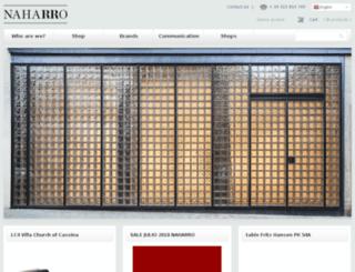 en.naharro.com screenshot