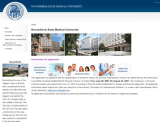 en.ngmu.ru screenshot