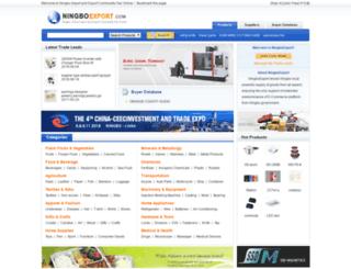 en.ningbo-export.com screenshot
