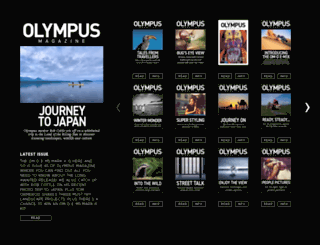 en.olympusmag.co.uk screenshot