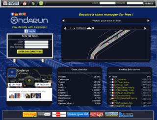 en.ondarun.com screenshot