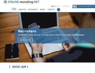 en.online-recruiting.net screenshot