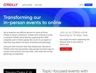 en.oreilly.com screenshot