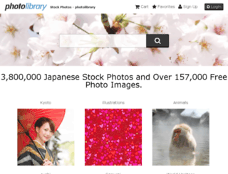 en.photolibrary.jp screenshot