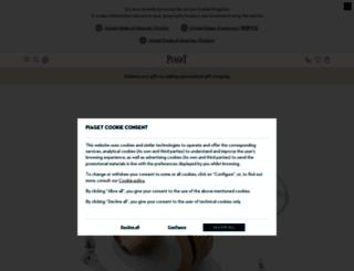 en.piaget.com screenshot