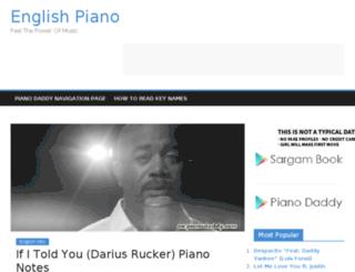 en.pianodaddy.com screenshot
