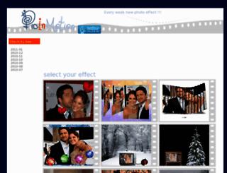 en.picinmotion.com screenshot