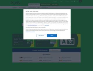en.pons.eu screenshot