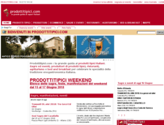 en.prodottitipici.com screenshot