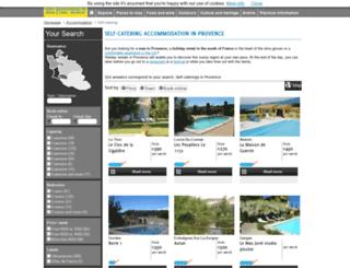en.provence-locations.com screenshot