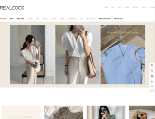 en.realcoco.com screenshot