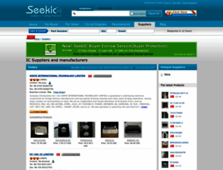 en.seekic.com screenshot