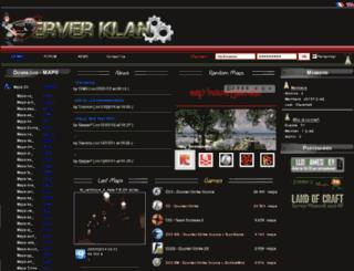 en.serverklan.net screenshot