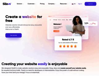 en.sitew.com screenshot