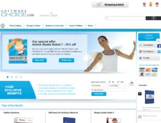en.software-choice.com screenshot