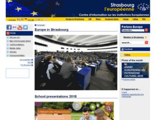 en.strasbourg-europe.eu screenshot