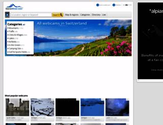 en.swisswebcams.ch screenshot