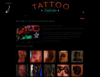 en.tattoo-zentrum-luebeck.de screenshot