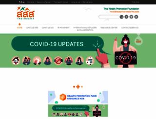 en.thaihealth.or.th screenshot