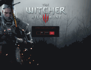 en.thewitcher.com screenshot