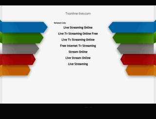 en.tvonline-live.com screenshot