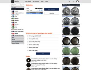 en.ucoin.net screenshot