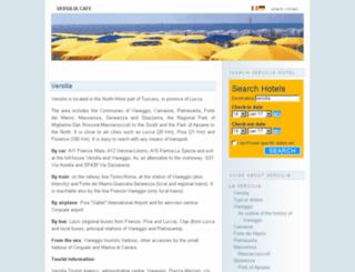 en.versiliacafe.it screenshot