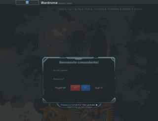 en.wardrome.com screenshot