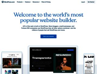 en.wordpress.com screenshot