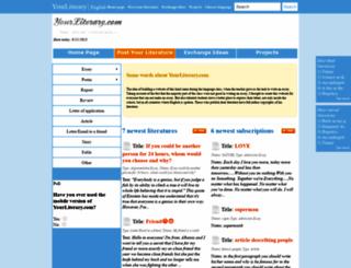 en.yourliterary.com screenshot