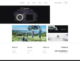 en.z-cam.com screenshot