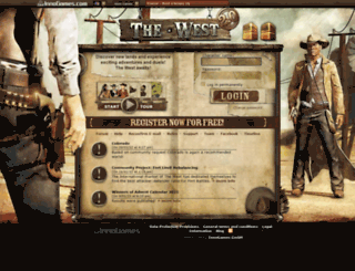 en11.the-west.net screenshot