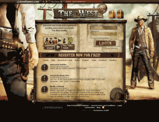 en18.the-west.net screenshot
