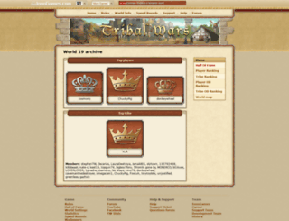 en19.tribalwars.net screenshot