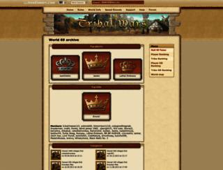 en69.tribalwars.net screenshot