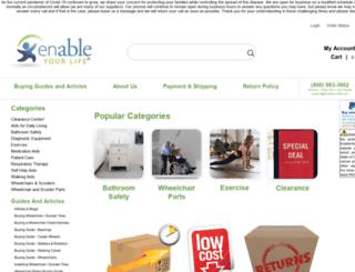 enableyourlife.com screenshot