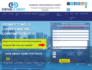 enactconveyancingsydney.com.au screenshot