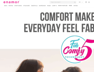 enamor.co screenshot